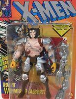 Vintage 1994 Marvel Comics~ROBOT WOLVERINE~Original Mutant X-Men X-Force Figure