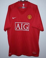 Manchester United England home shirt 07/09 Nike size XL