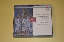 The Bach Family-organe works/wilhelm Krumbach/teldec 1993/2cd BOX/rar