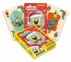 Spongebob Christmas set of 52 playing cards (+ jokers) (nm)