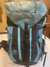 Quechua Forclaz 40 Air Backpack-Air Cooling System-Turquoise-Padded Straps