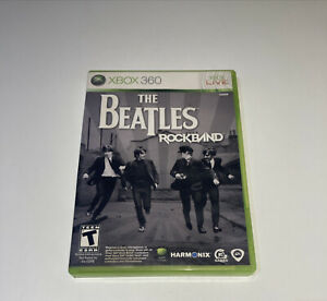 The Beatles: Rock Band - Xbox 360 Game Complete w Manual