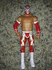 2011 Mattel WWE Sin Cara Red & Gold PPV Action Figure Wrestling Lucha Libre