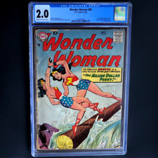 WONDER WOMAN #98 (1958) 💥 CGC 2.0 💥 1ST SILVER AGE WONDER WOMAN! SCARCE DC KEY