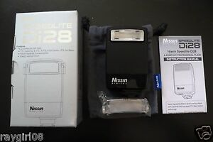 Nissin Speedlite Di28 Shoe Mount Flash for  Nikon DSLR New in Box