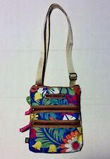 Lily Bloom Tiki Bar Small Multi Section Crossbody Handbag