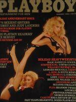 Playboy January 1983 | Audrey Judy Landers Lonny Chin       #1671 +
