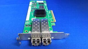 LSI LS17204EP 2GB PCI-E Dual Port Fibre Channel FC HBA Host Bus Adapter L/P