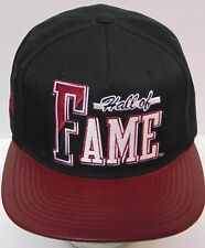 HALL OF FAME Athletic Skater ZUMIEZ ADVERTISING Black Maroon SNAPBACK HAT CAP