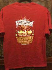 SWEETWATER BREWING Atlanta ~ Men's LRG ~ 420 FEST Snoop Dogg + ~ 2 Sided T Shirt