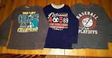 Set of 3 Boys' Children's Place Sports Long Sleeve Waffle Shirts ~ size 5/6 EUC!