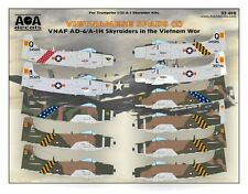 AOA decals 1/32 VIETNAMESE SPADS 2 VNAF AD-6/A-1H Skyraiders in the Vietnam War