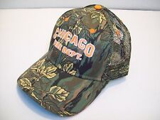 Chicago Fire Department Cap Camo Cotton/Mesh