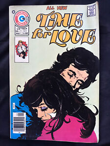 Charlton Comics Time For Love No. 47 1976 Comic Book