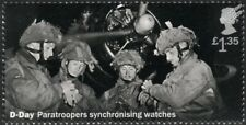 WWII D-Day British Paratroopers 6th Airborne Division Synchronise Watches Stamp