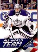 2011-12 Upper Deck All World Team Jonathan Quick #AW16