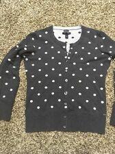 Tommy Hilfiger Women's Polka Dot Cardigan Sweater, Size Medium