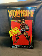 Wolverine Vinyl Model Kit In Original Box 1990 Marvel Comics Inc. Made In Japan