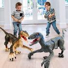 Dinosaurier Spielzeug Ferngesteuertes Dino LED Beleuchtung Brüllendes Gehen