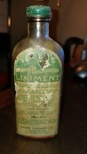 1900s Yagers Liniment Co. Baltimore Maryland medicine PHARMACY Apothecary bottle