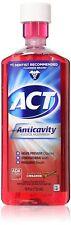 Accu-chek Compact Plus Act Alcohol Free Anticavity Fluoride Rinse, Cinnamon,...