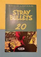 "STRAY BULLETS COMIC by DAVID LAPHAM No 20 JULY 1999 ""MOTEL"" TIED UP IN BED"