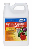 Fruit Tree & Vegetable Systemic Soil Drench 1 Gal  Imidacloprid Insect Control