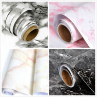 Marble Wall Sticker PVC Waterproof Home Kitchen Cupboard Self Adhesive Sticker