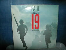 """Paul Hardcastle-19 12"""" P/S 1985 Destruction mix"""