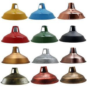 Retro Lampenschirm Metall Industrielampe Fabriklampe Vintage 30cm Wahl