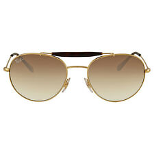 Ray Ban Light Brown Gradient Round Sunglasses