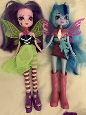 My Little Pony Equestria Girls Aria Blaze And Sonata Dusk Dolls Lot Of 2 Euc