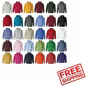 Heavy Blended Hoodie Hooded Sweatshirt Soft Blend winter Port Company Gildan