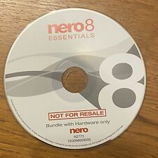 CD Windows Microsoft ❤️ Nero 8 Essentials - Bundle with Hardware Only 2007