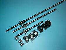 3pc ballscrew RM2005-800/1400/1400mm-C7+3 set BK/BF15 end bearing support CNC