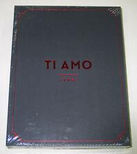 DBSK TVXQ - TI AMO TVXQ! PHOTOBOOK [3 Photobooks + DVD + Poster] K-POP KPOP