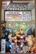 AVENGERS ASSEMBLE #1 HEROESCON VARIANT COVER :: Bendis & Bagley