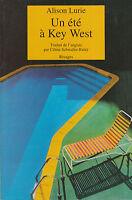 Livre un été à Key West  Alison Lurie book