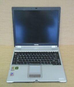 """Toshiba Portege S100 14.1"""" Pentium M740 1.73Ghz 1GB 160GB Laptop PPS10E-01S019EN"""