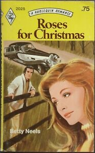 Vintage Harlequin Romance, 2025, Roses For Christmas, Betty Neels