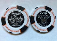 Harley Davidson 115th Anniversary Deluxe HD/Sundance, WY Poker Chip