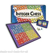 SEALED NEW GAME BOX Wiebe Carlson Associates CRE 4794 Integer Chess 2-4 PLAYERS