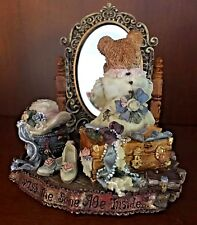 """Boyds Bears """"Beatrice..We Are Always the Same Age Inside"""" #3906 Resin NIB 1998"""
