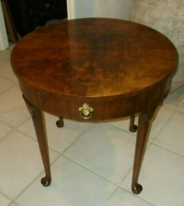 Vintage Baker Furniture One Drawer Table