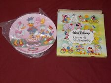 Happy Birthday Donald Duck 50 Years Crown Staffordshire Disney Ceramic Plate New