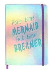 A5 Part Time Mermaid Full Time Dreamer Notebook  -  Perfect Gift Idea