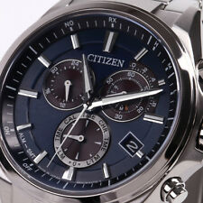 CITIZEN ATTESA Eco-Drive Chronograph AT3050-51L Men's Watch New in Box