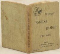 MODERN ENGLISH READER DUCRUET GIBB DICKENS ANTOLOGIA INGLESE DOYLE WELLS SCOTT