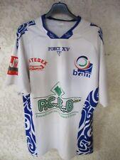 Maillot rugby BRAM porté n°11 FORCE XV shirt blanc XL
