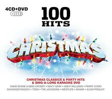 100 HITS-CHRISTMAS The Jacksons,Westlife,Nat King Cole,Dolly Parton  5 CD NEU